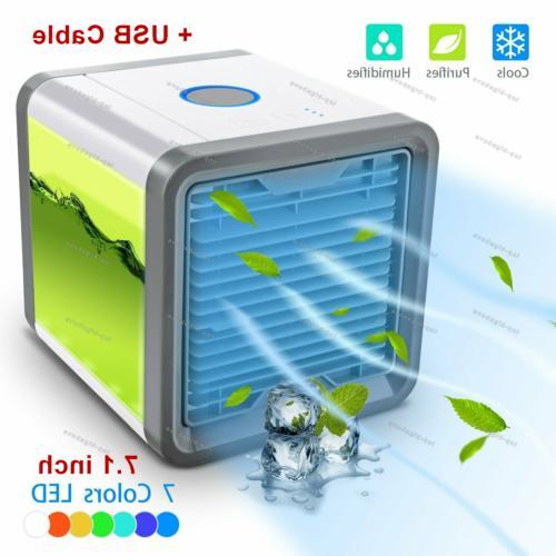 portable air cooler humidifier purifier mini air