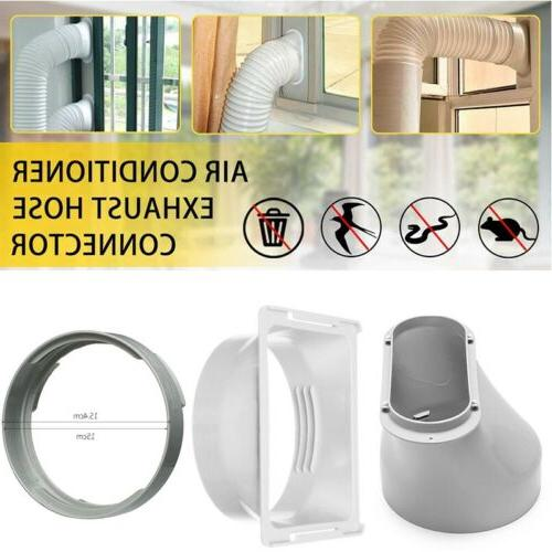 15CM Portable Air Conditioner Window Exhaust Duct Pipe Hose
