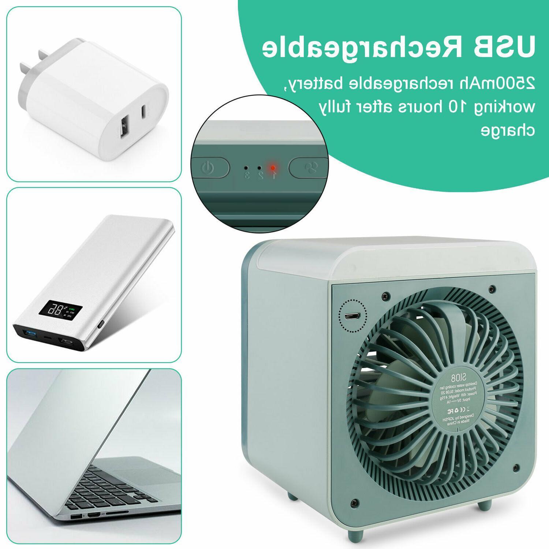 Portable USB Mini Conditioner Cooling Fan Purifier Desktop