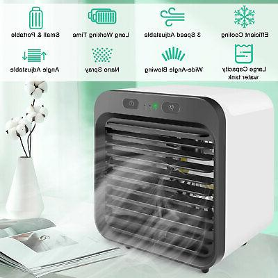 Portable USB Conditioner Cooling Fan Humidifier Purifier