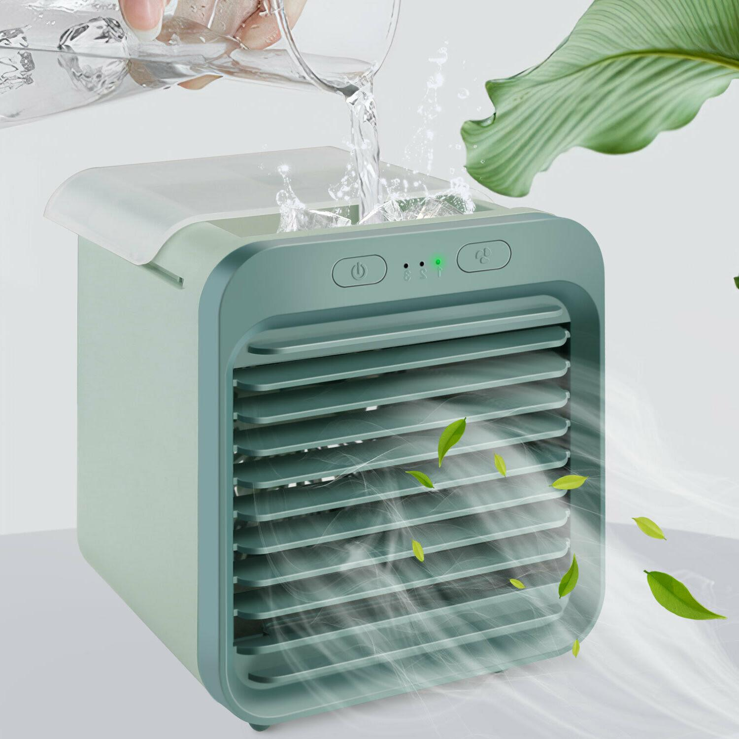 portable usb mini air conditioner cooling fan