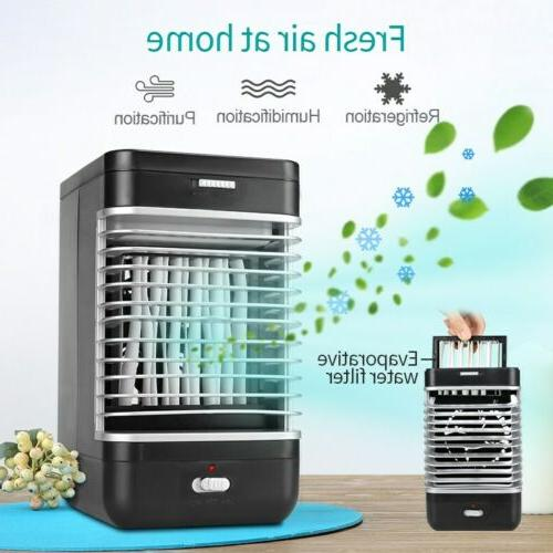 Portable Mini Air Conditioner Cool Cooling Fan Bedroom Home