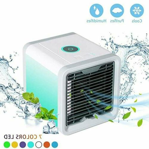 Portable Mini AC Air Conditioner 3 in 1 Unit Cooling Fan Hum