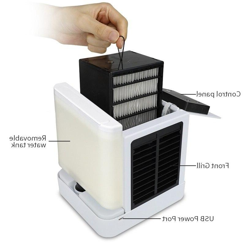 Portable Fan Space The to Cool Home Conditioning