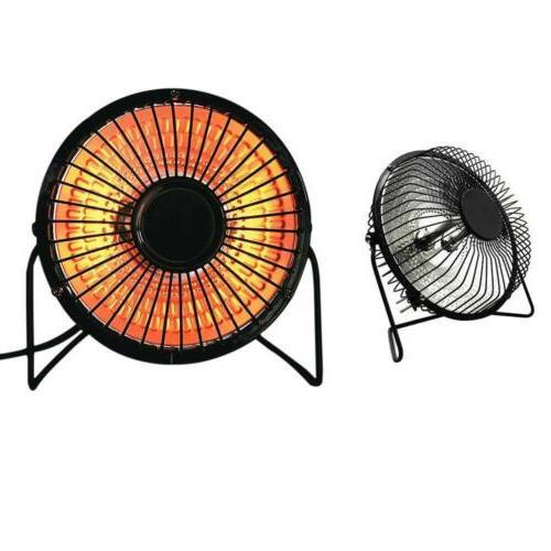 Mini Electric Sun Heater Desktop Warmer Fan Space Heater For