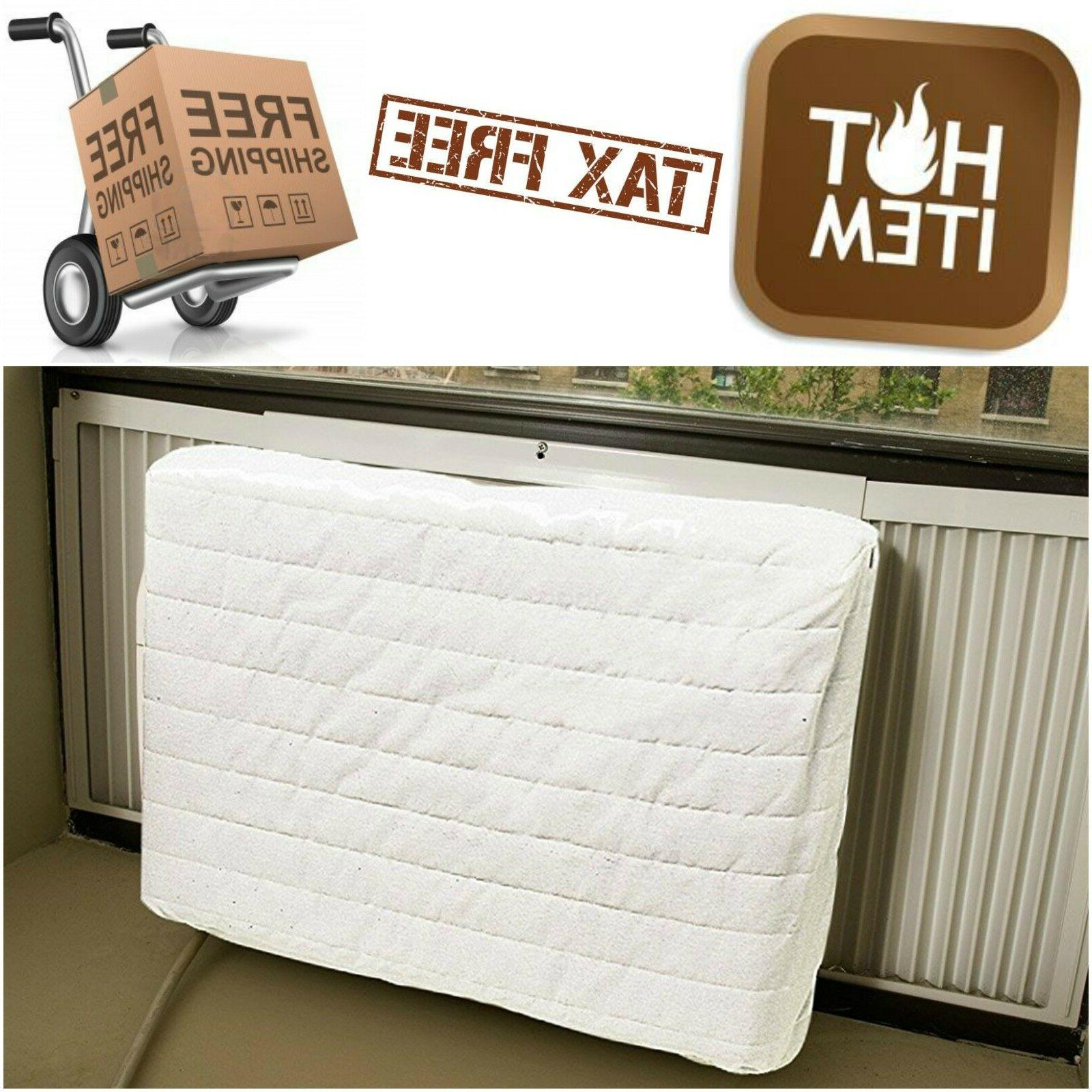 Quilted Air Conditioner Indoor Cover Protection Preventing H
