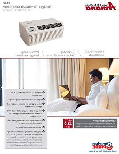 Amana PTAC 15,000 Air Conditioner Unit Heater, PTC153G35AXXX