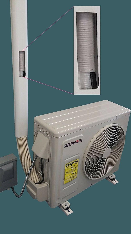 PVC Cover Mini Conditioner Hide