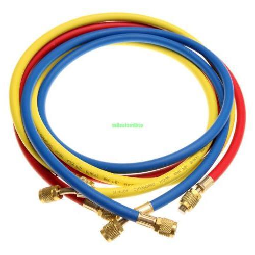 R134a R410a R404a AC Kit Manifold Gauge