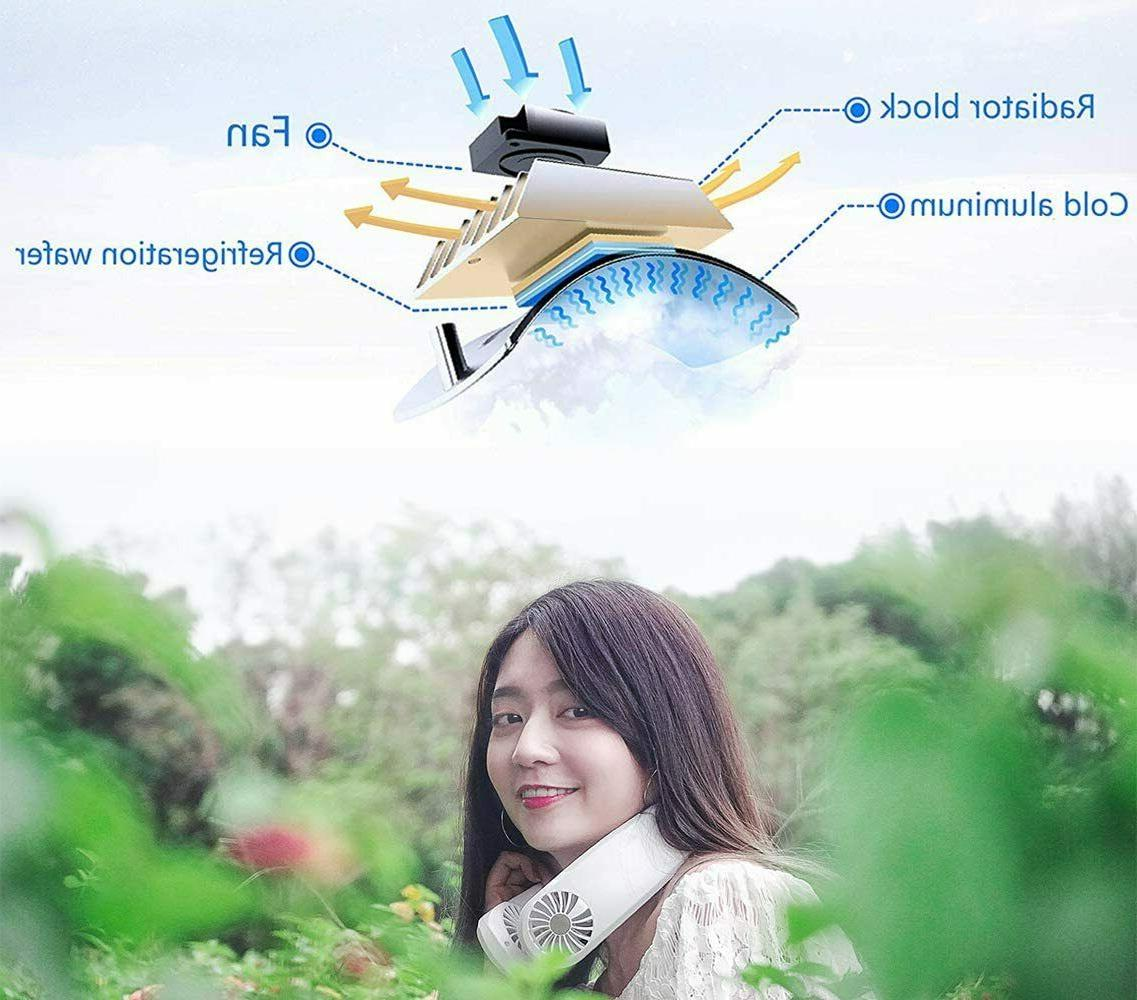 Rechargeable 3 Level Cooling Air Conditioner Fan
