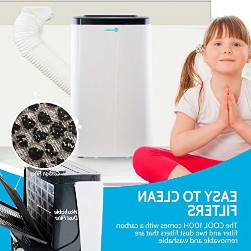 RolliCool BTU Air Conditioner Alexa-Enabled AC Unit