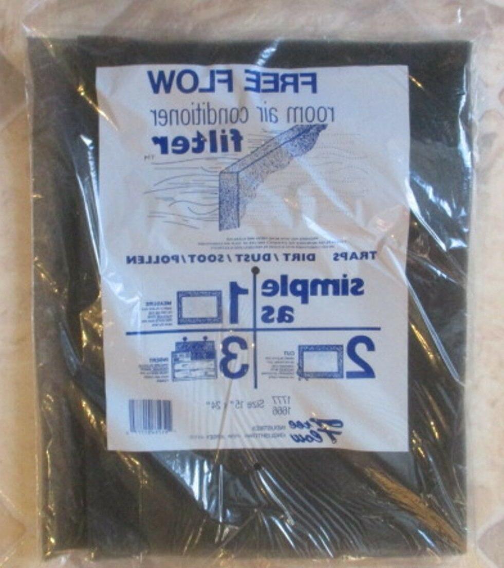 room air conditioner filter 15 x 24