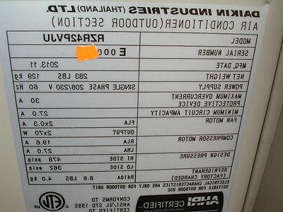 Daikin RZR42PVJU Mini Split Air Conditioner 16 42,000 1 Phase