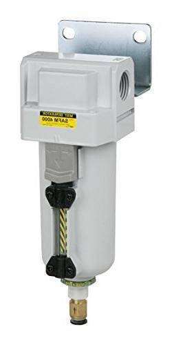 PneumaticPlus SAFM4000M-N06BD-MEP Inline Air Drying Coalesci
