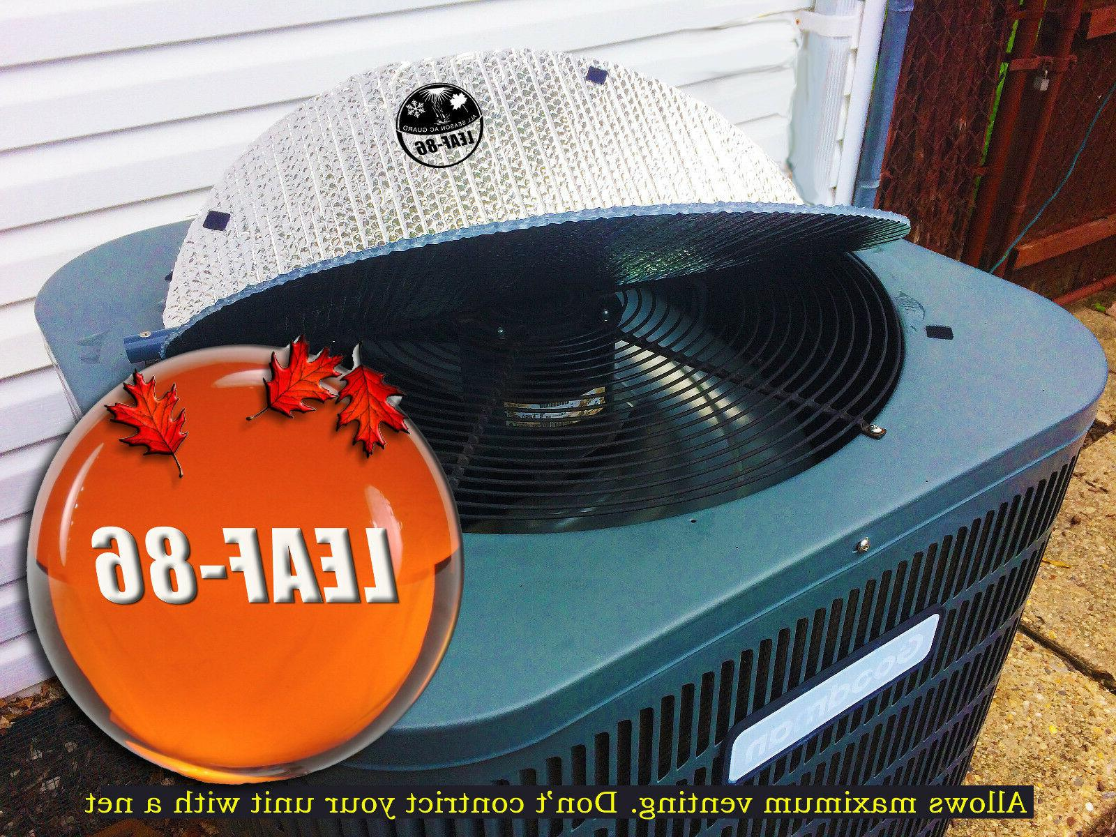 All Season AC Guard - LEAF-86 AirConditioner Cover Systems