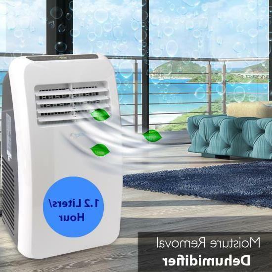 SERENE-LIFE 8,000 BTU Portable Air Dehumidifier Fan +