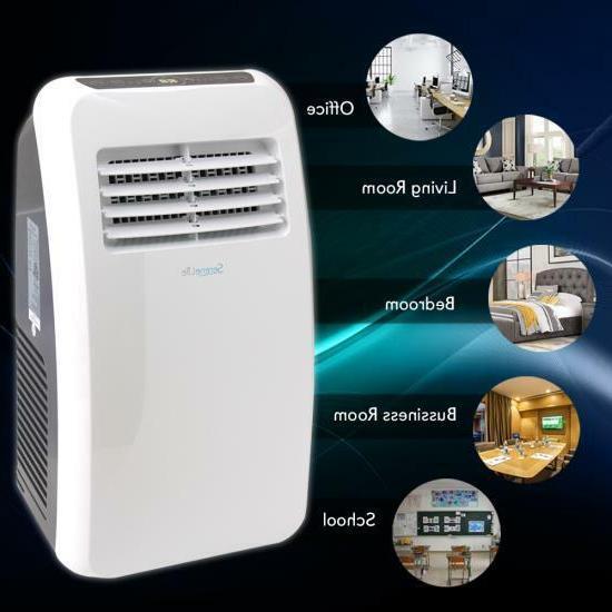 SERENE-LIFE BTU Portable Air Conditioner Dehumidifier Fan +