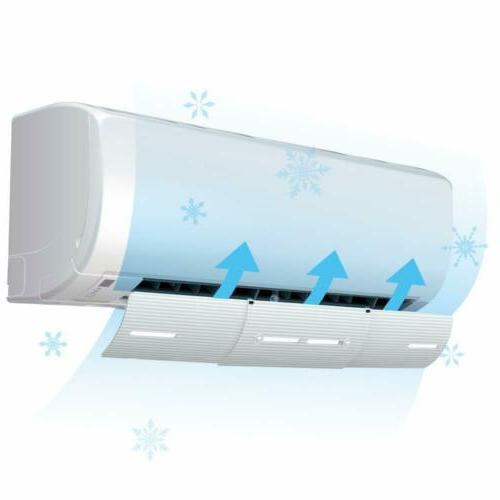 slim the original air conditioner deflector set