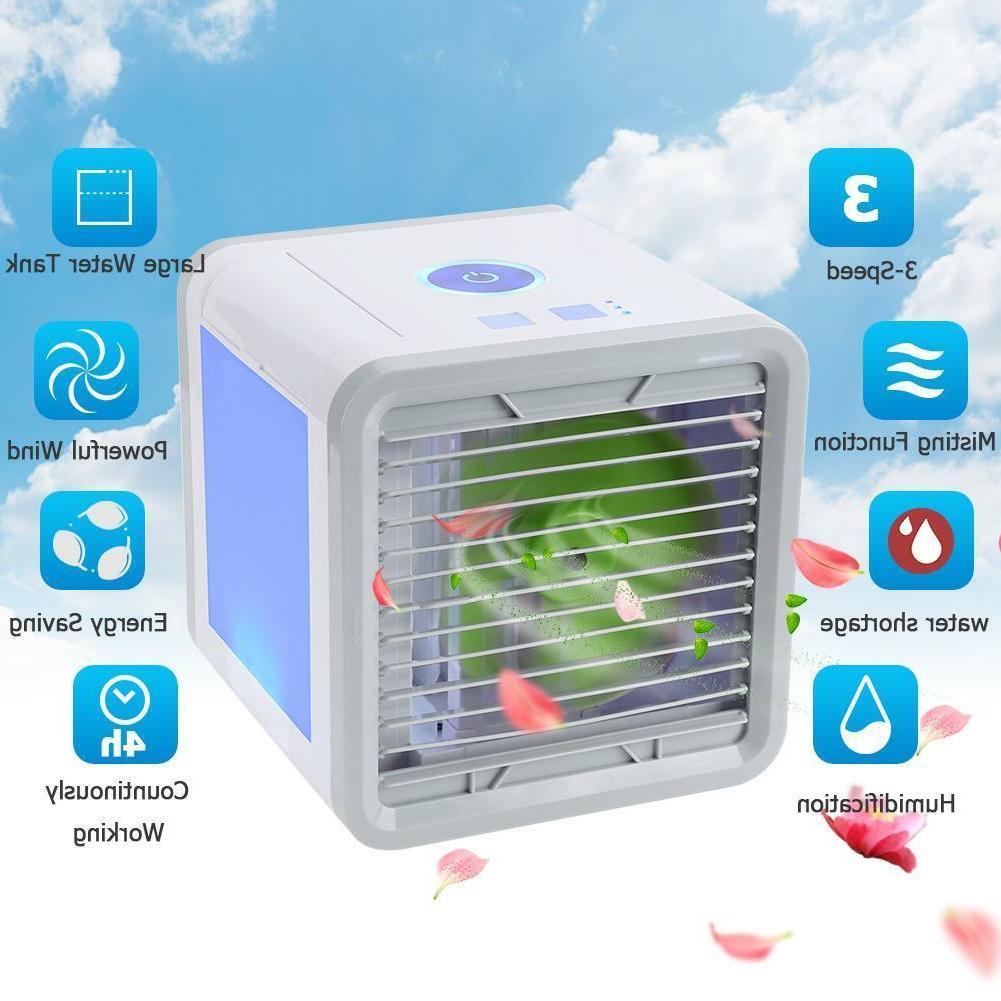 Small Fan Cooling Cooler Portable Mini Desktop Air Condition