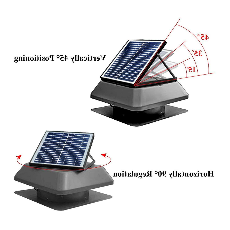 Solar Roof Exhaust Fan Vent Fan 24V