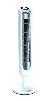 "Stand Up Tower Fan 36"" Oscillating Remote Control Black Cool"