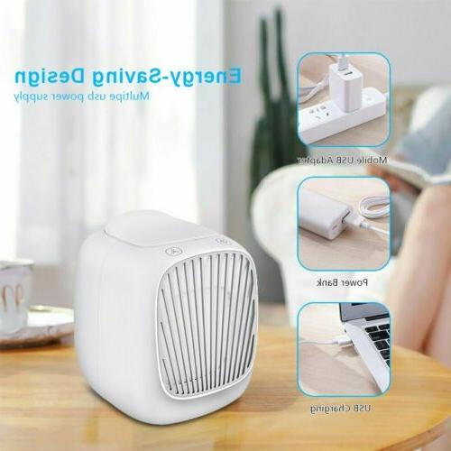 Summer Air Fans Home Noise Cooling Fans Humidifier