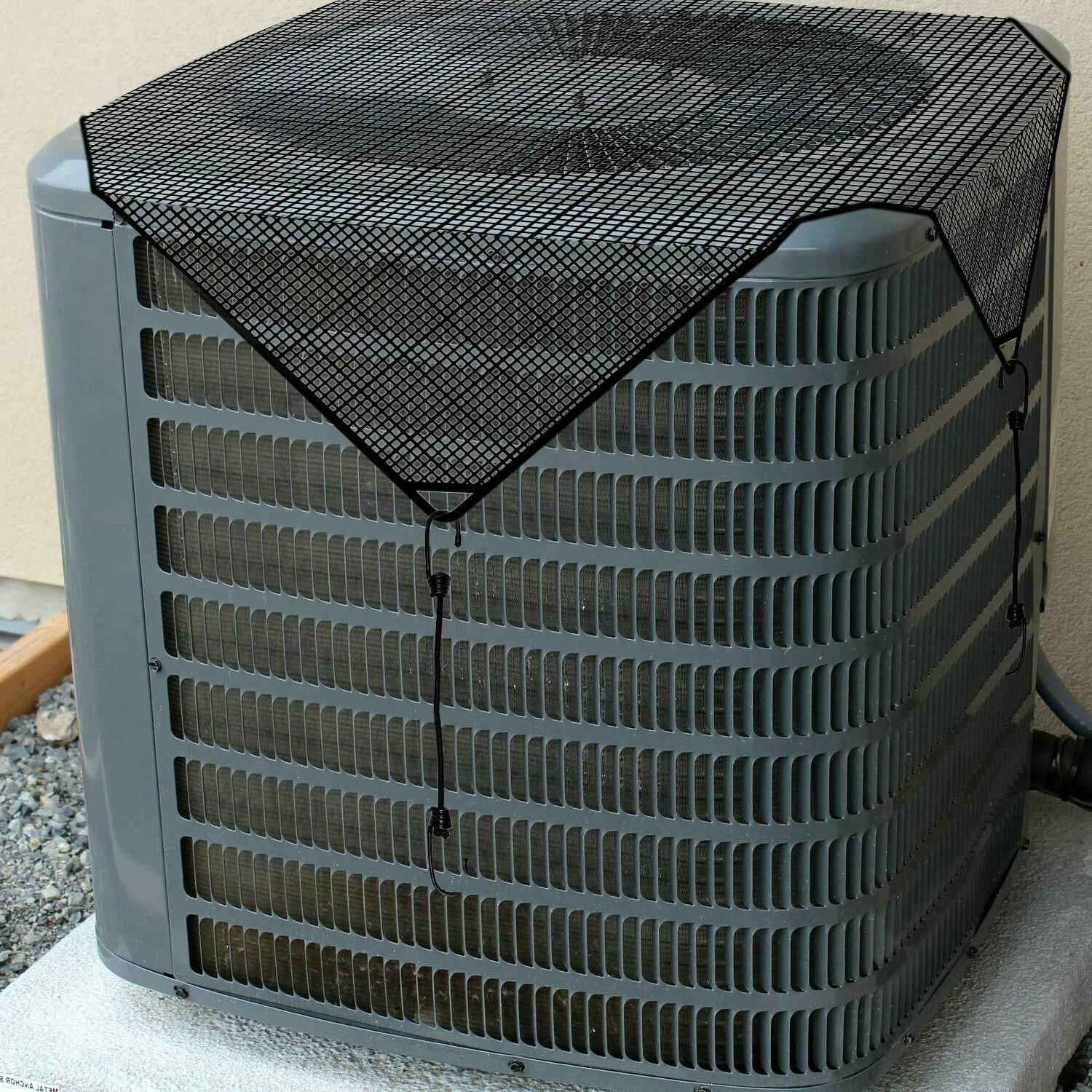 Summer Net Mesh Air Conditioner Mesh Cover for Outside Units