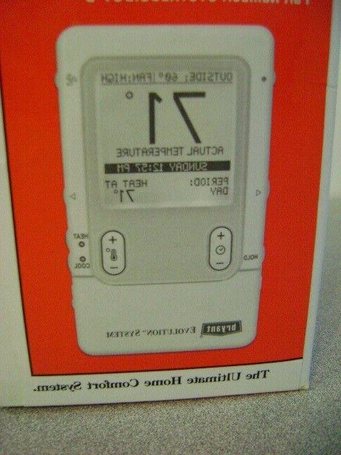SYSTXBBUID01-B Bryant~Evolution~SYSTXBBUID01-B~Thermostat~NEW~~~ NIB