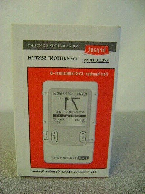 systxbbuid01 b evolution systxbbuid01 b thermostat new