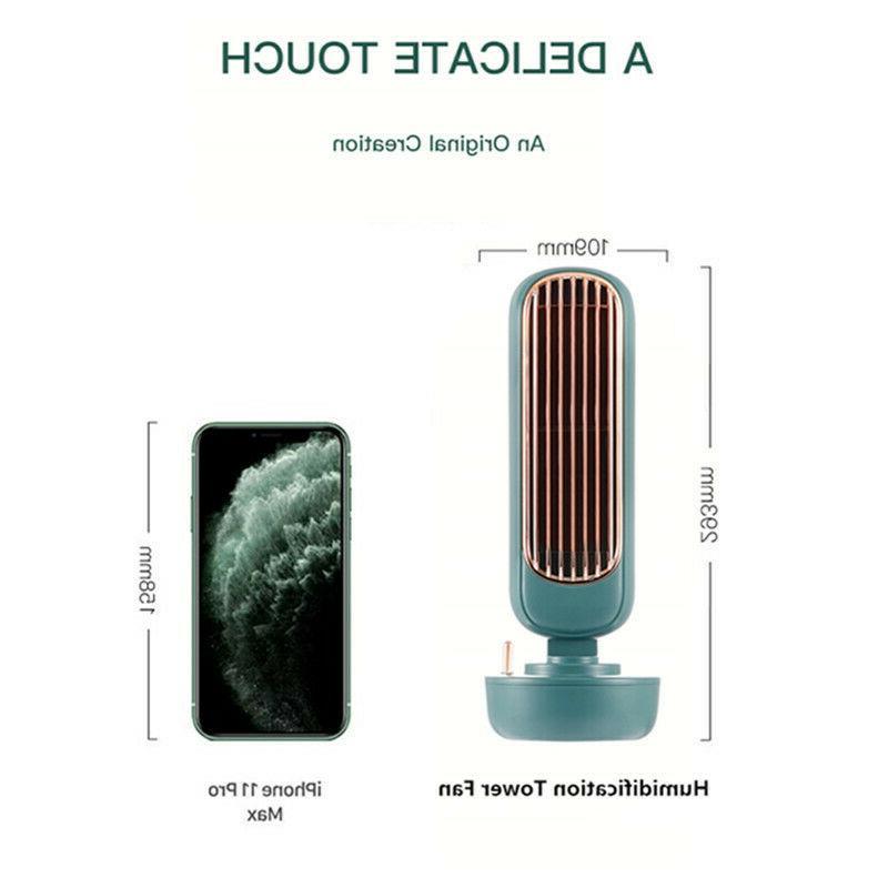 Tower Fan Conditioner Cooler Spraying Fan Ultrasonic Humidifier