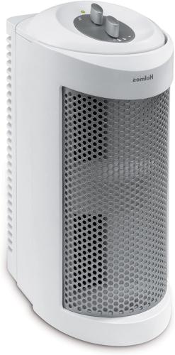 True HEPA Allergen Remover Mini Tower Air Purifier For Small