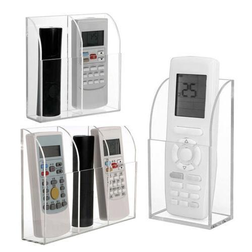 1pc Remote Control Holder Wall Organizer Box US