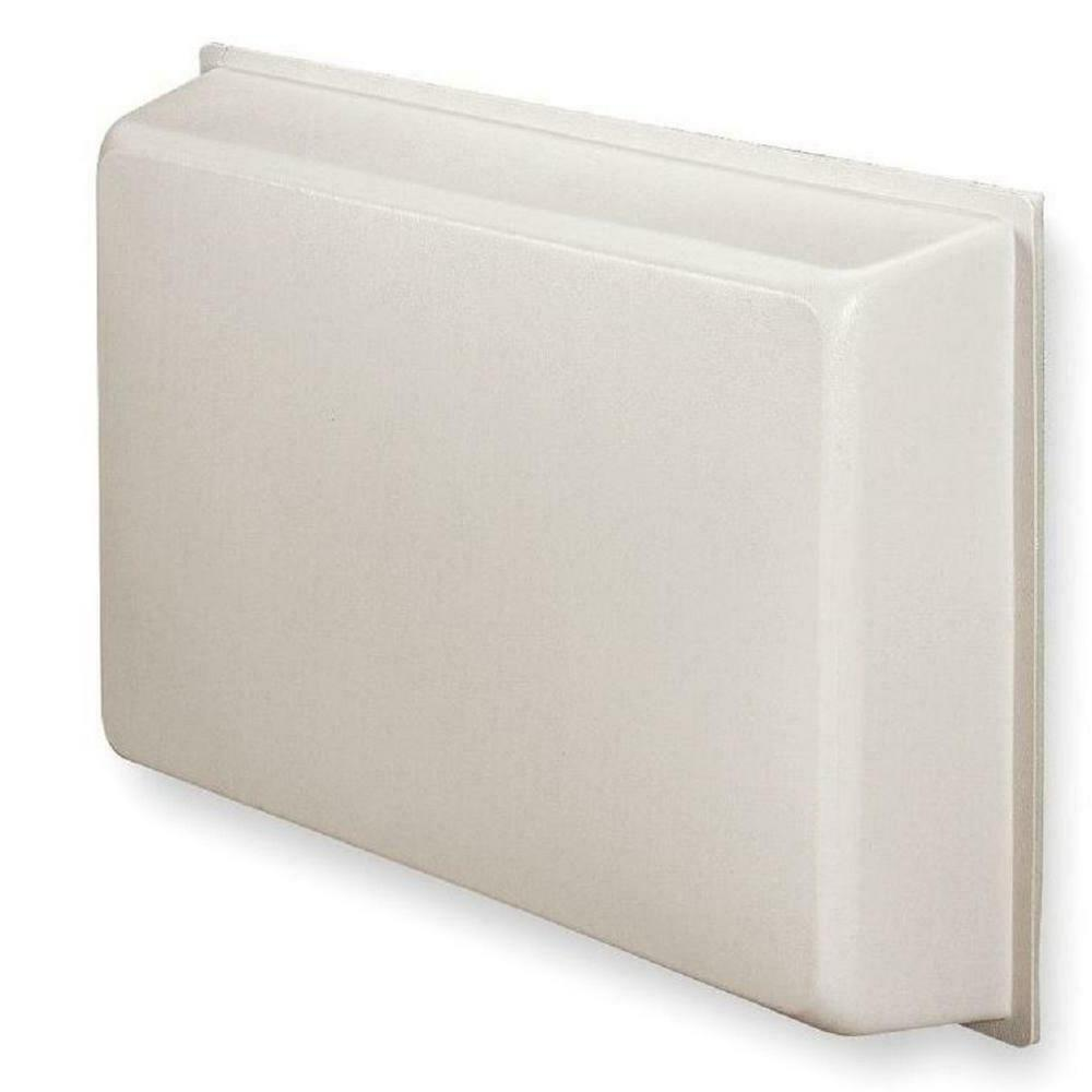Universal AC Cover, Molded Plastic, R-5 for Through Wall Air