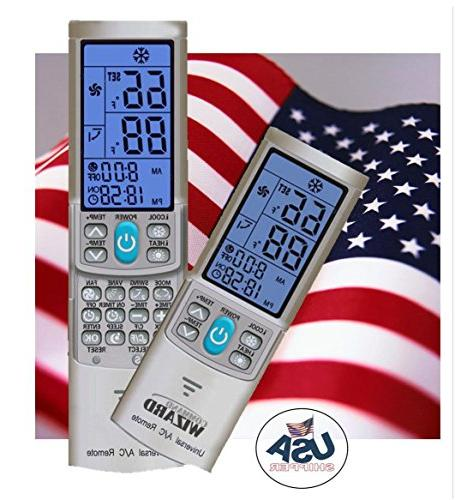 Universal AC Remote Control For Mini-split ductless air