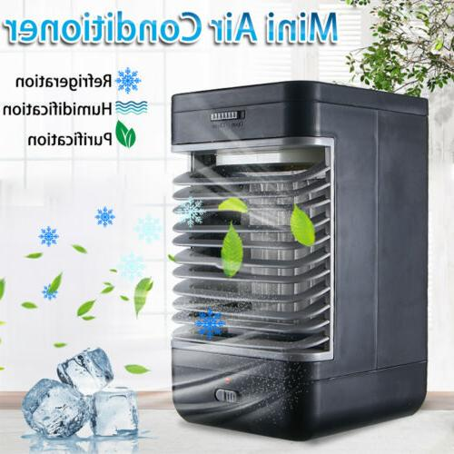 Portable Air Conditioner Cooling Bedroom