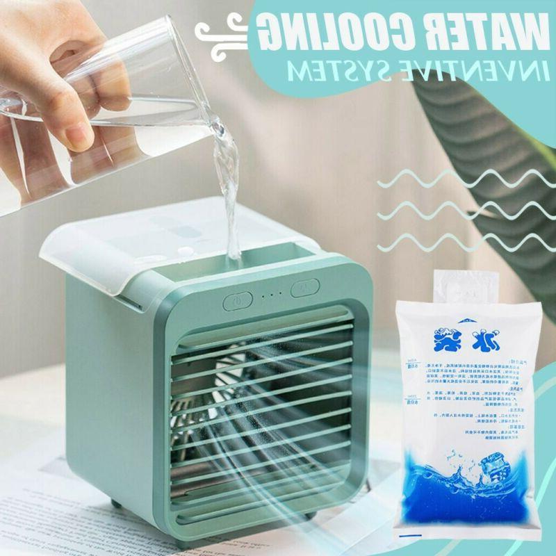 usb mini portable air conditioner humidifier air