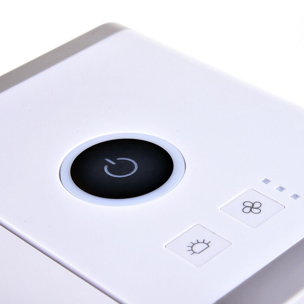 USB Air Conditioner Cool For Bedroom LED