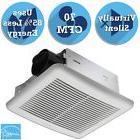 White 70 CFM Wall Or Ceiling Exhaust Ventilation Bathroom Fa