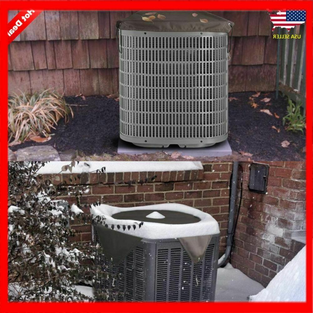 Winter Air Conditioner Cover For Outside Unit BROWN 32 X