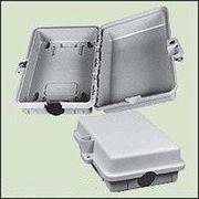 WLanParts Enclosure 9X6x3 Inch Outdoor 1-Port Gray