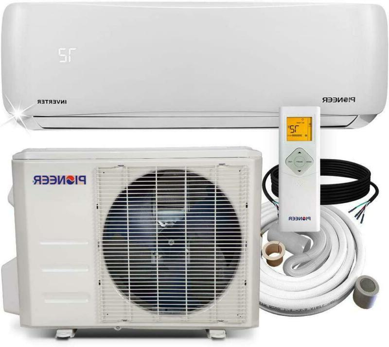 Pioneer Air Conditioner Wall Mount Ductless Inverter+ Mini Split