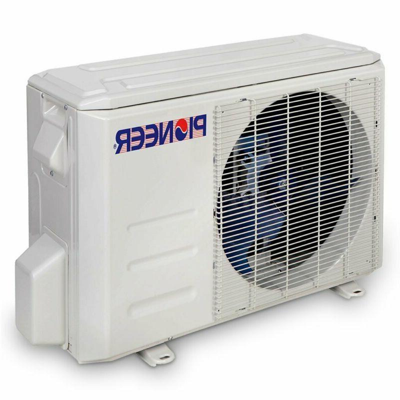 Pioneer Conditioner Split Minisplit Heatpump, Btu-110/120