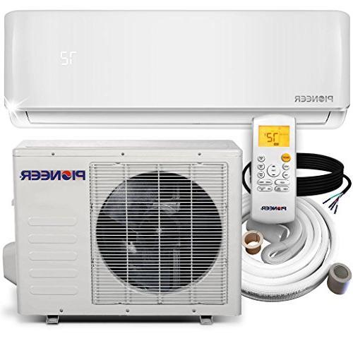 Pioneer WYS012-17 Conditioner Inverter+ Ductless Mini Air Conditioner & Heat Pump Full 12000 BTU