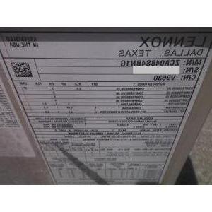 LENNOX ZCA048S4BN1G SERIES PACKAGED CONDITIONING OPTIONAL ELECTRIC SEER R-410A