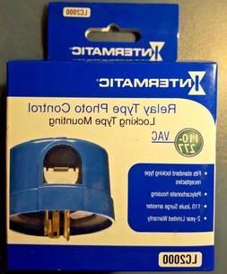 INTERMATIC LC2000 Photocontrol, Twist Lock,110 to 277VAC
