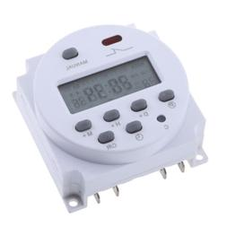 LCD Digital Control Power Programmable Timer Relay Switch Ti