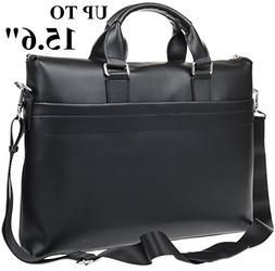 Laptop Bag Leather for Men or Women - fits 13 14 15 inch Lap