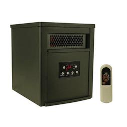 LifeSmart 6 Element 1500W Portable Electric Infrared Room Sp