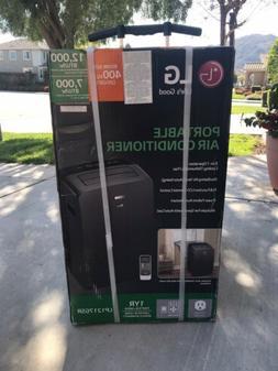 LG LP1217GSR 115V Portable Air Conditioner with Remote Contr