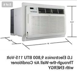 LT1016CER LG 10,000 BTU Thru-the-Wall Air Conditioner - Whit